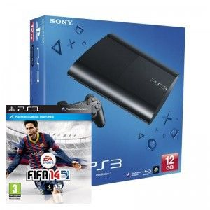 SONY konzola playstation 3 (12GB) + PS3 FIFA 14