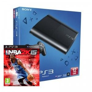 SONY konzola playstation 3 (12GB) + PS3 NBA 2k15