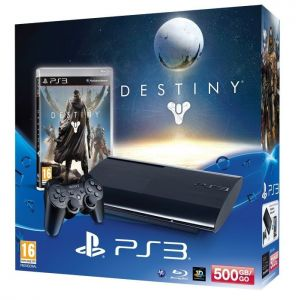 SONY konzola playstation 3 (500GB) + PS3 Destiny