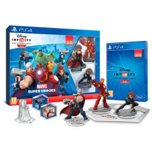 PS4 Infinity 2.0 - Marvel Super Heroes Avengers Starter Pack