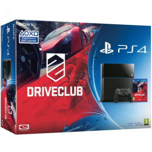 SONY konzola playstation 4 (500GB) + PS4 DriveClub