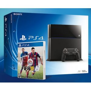 SONY konzola playstation 4 (500GB) + PS4 FIFA 15