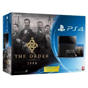 SONY konzola playstation 4 (500GB) + PS4 The Order 1886
