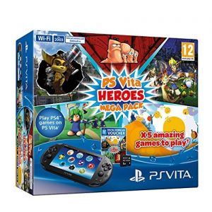 SONY konzola playstation vita WiFi + Heroes Mega Pack