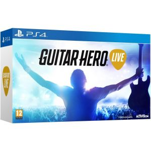 PS4 Guitar Hero Live + Gitara