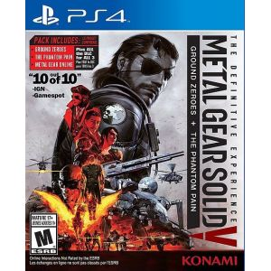 PS4 Metal Gear Solid 5 - The Definitive Experience