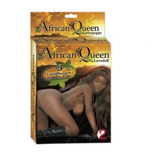 Orion african queen lovedoll ženska crna lutka, ORION00722