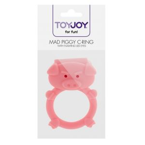 Toy Joy silikonski prsten mad piggy, TOYJOY0785