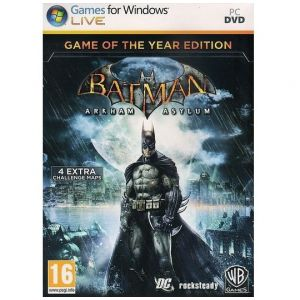 PC Batman - Arkham Asylum, Game of the Year Edition