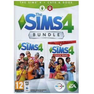 PC The Sims 4 Holliday Bundle - Sims 4 + Expansion Cats & Dogs