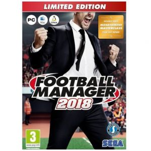 PC Football Manager 2018 - Limited Edition