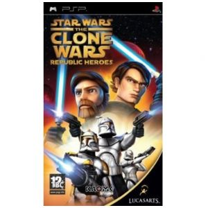 PSP Star Wars - The Clone Wars: Republic Heroes