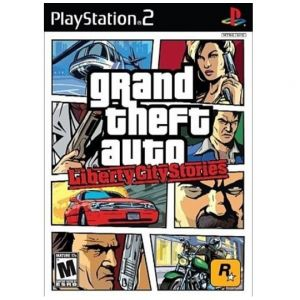 PS2 Grand Theft Auto - Liberty City Stories