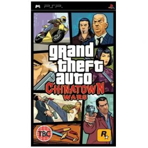 PSP Grand Theft Auto - GTA Chinatown Wars