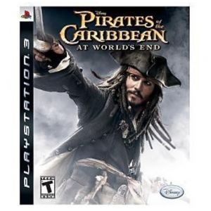PS3 Disney Pirates Of The Caribbean - At World's End