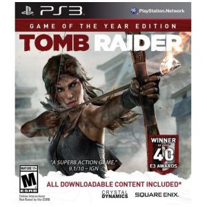 PS3 Tomb Raider - Game Of The Year Edition