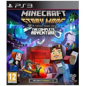 PS3 Minecraft - Story Mode - The Complete Adventure