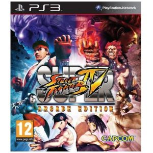 PS3 Super Street Fighter 4 - Arcade Edition