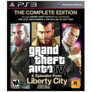 PS3 GTA IV The Complete Edition - Grand Theft Auto 4 & Episodes From Liberty City