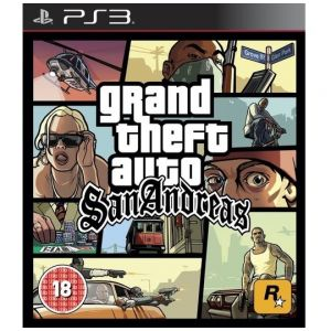 PS3 Grand Theft Auto - GTA San Andreas