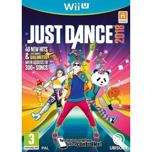 WiiU Just Dance 2018