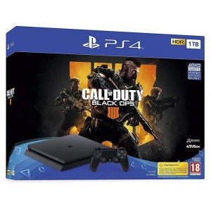 Konzola Playstation 4 1TB Black Slim + Call Of Duty Black Ops 4 Playstation 4