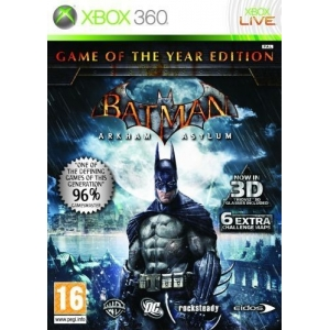 XB360 Batman - Arkham Asylum, Game of the Year Edition