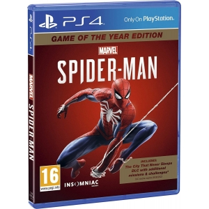 PS4 Marvel's Spider-Man - Game Of The Year Edition