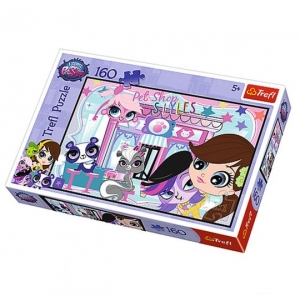 Littlest pet shop slagalica, 160 delova, 12-153262