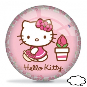Hello Kitty lopta, 23cm, 04-121