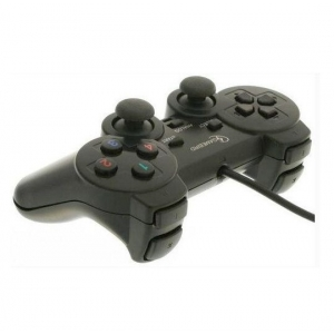 Gembird JPD-THRILLERSHOCK-BOX USB 2.0 analog vibration gamepad black (alt. JPD-UDV-01) (343)
