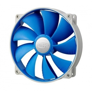DeepCool UF140 140x140x26mm ball bearing ventilator, 700-1200rpm, 17.6-26.7dBa, 72CFM
