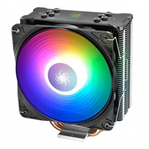 DeepCool GAMMAXX GT A-RGB UNI kuler 130W 120mm.Fan 500~1650rpm 64CFM 28dBa Intel/AMD 676g 4xpipes