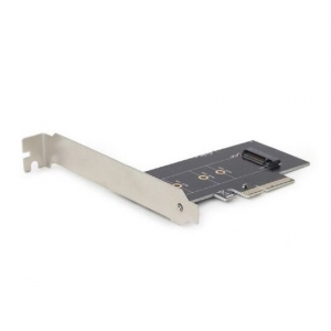 Gembird PEX-M2-01 M.2 SSD adapter PCI-Express add-on card, with extra low-profile bracket