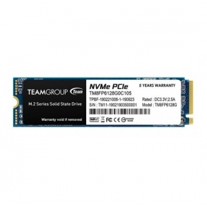 TeamGroup M.2 2280 128GB MP33 SSD PCIe Gen3 x4, NVM Express, 1500/500MB/s TM8FP6128G0C101